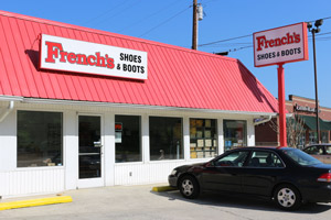 French's Shoes & Boots 4121 Rhea County Highway, Suite 102 Dayton, TN  37321 (423) 775-4605