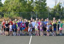 RCHS Tennis Camp 2014
