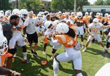 UT Vols Day 3 Camp