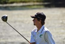 Drew Gunter plays golf for the Eagles at Bear Trace Course in Regions.(Photo:GaryBolden/RheaReview)