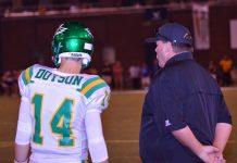 Daniel Dotson and coach Mark Pemberton