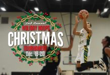 The 2nd Annual Holiday Christmas Basketball Tournament begins this Thursday.(Photo:GaryBolden/RheaReview)
