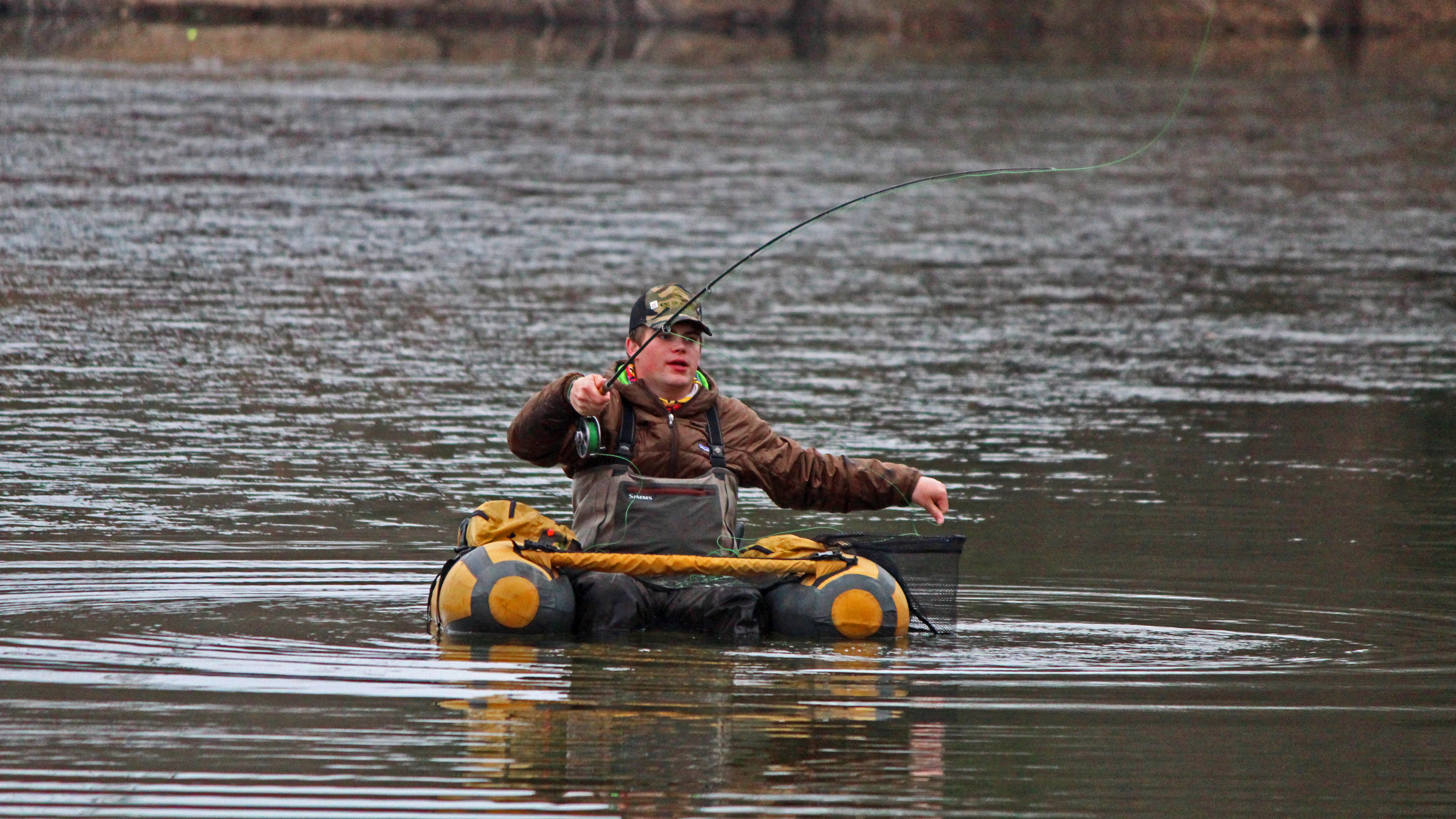 Youngster fishes for another championship for Fly fishing chattanooga