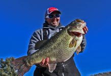 Gabe Keen Record Largemouth Bass
