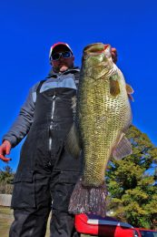 Gabe Keen Record Largemouth Bass