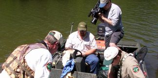 TWRA bass electrofishing research
