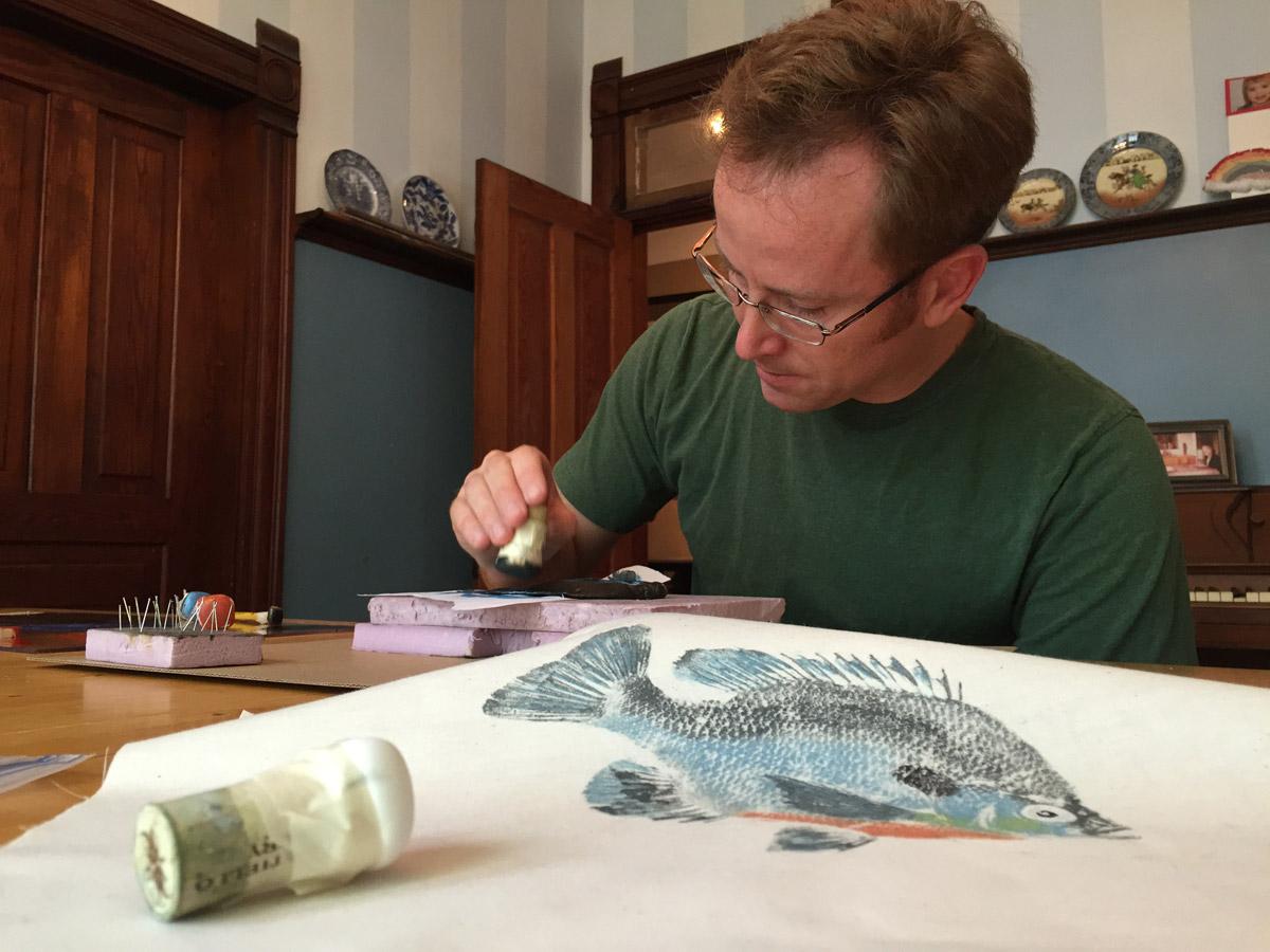 matt monahan gyotaku