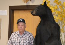 Wendell Freels Bear Donation