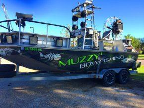 Muzzy Bowfishing Boat