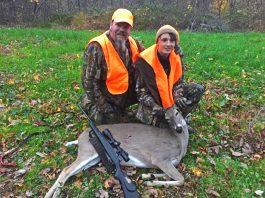 Corbin Reinhard first deer