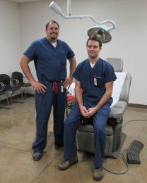 Dr. Craig Swafford & Dr. Benjamin Kellogg