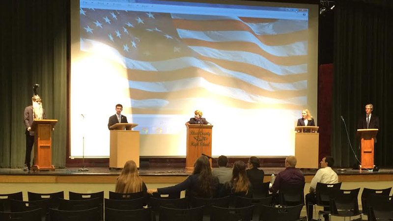 Presidential Strawberry Debate comes to Rhea GOP