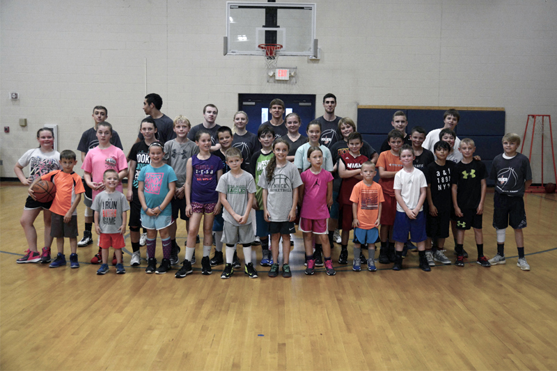 Power Up Basketball Clinic draws well