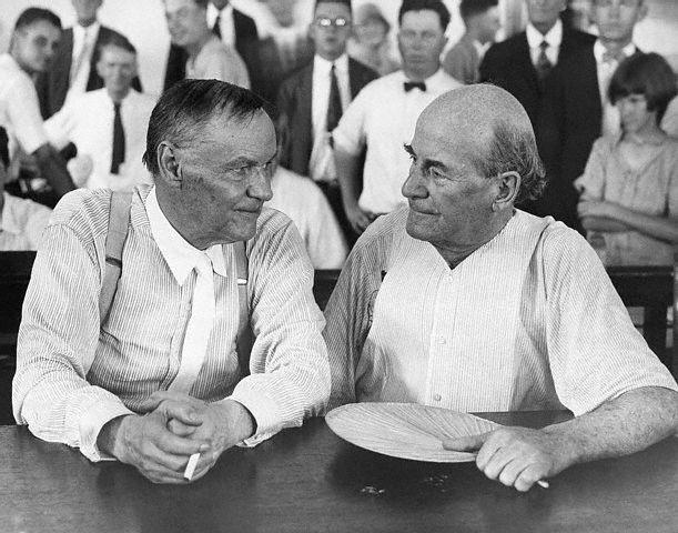William Jennings Bryan and Clarence Darrow