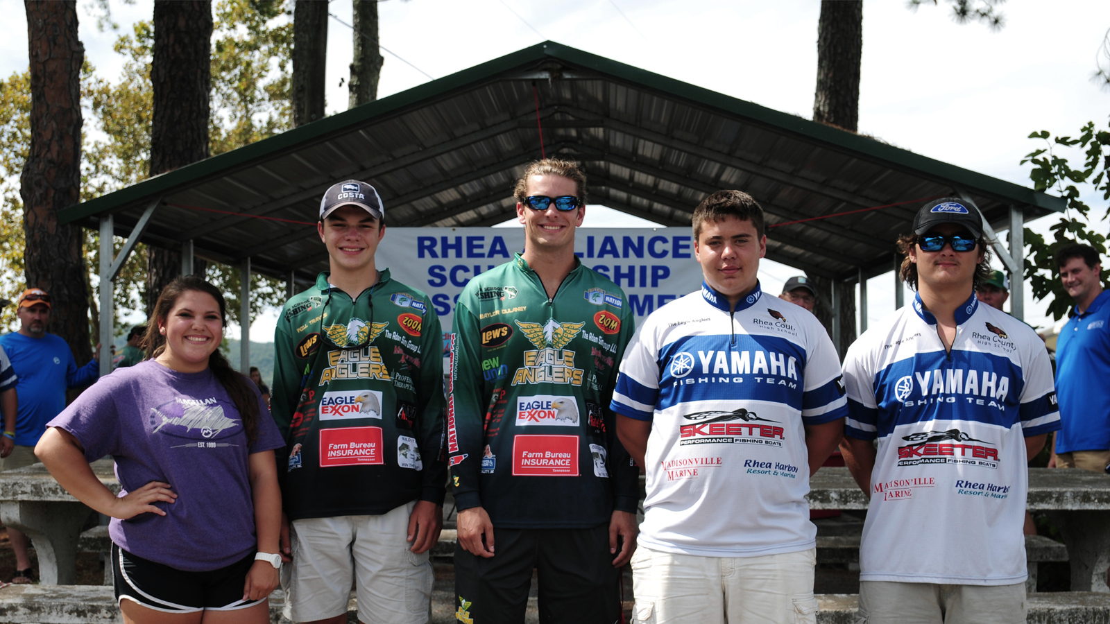 Rhea alliance awards anglers scholarships for College fishing scholarships