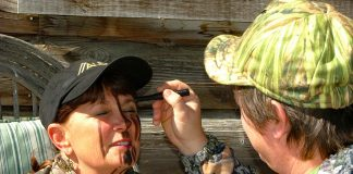 hunting camouflage face paint