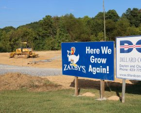 Zaxby's Construction Dayton Tennessee
