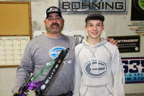 Harvest Archery's Doodle Gardner and nephew Jacob Gardner. (ElmerHarris/RheaReview)