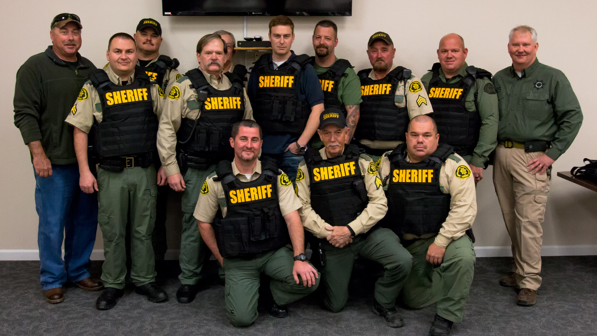 Sheriff's Department receives new Bullet Proof Vests