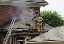 Dayton Fire Department house Fire
