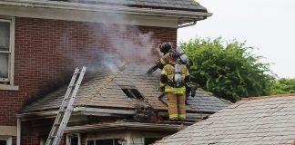 Dayton Fire Department house Fire