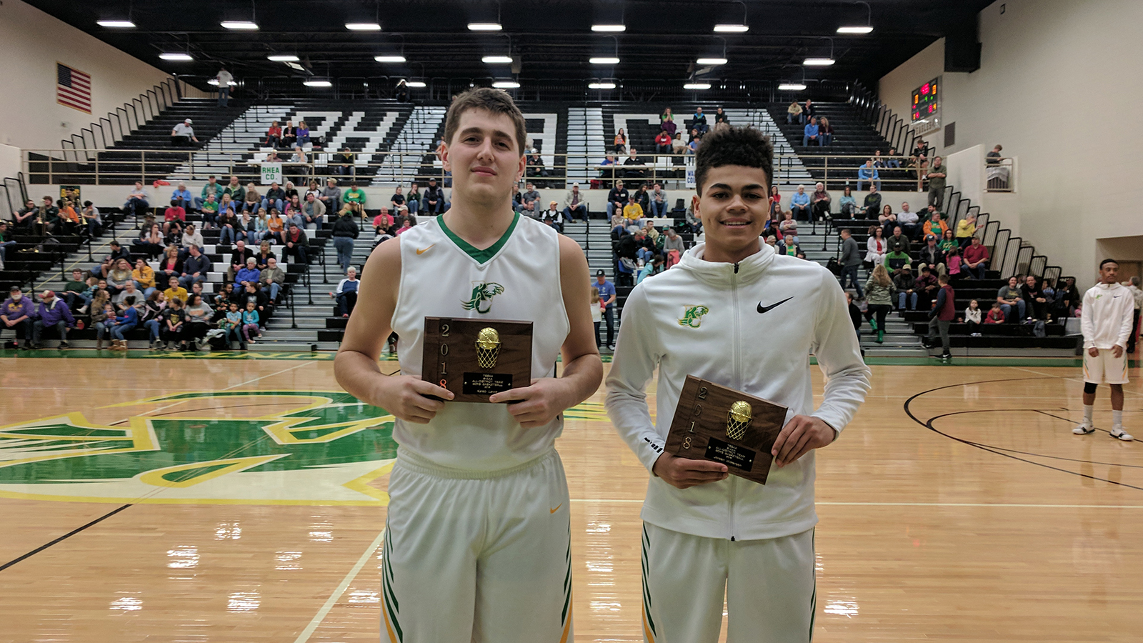 Rhea County Basketball places Wilkerson & Laws on All-District