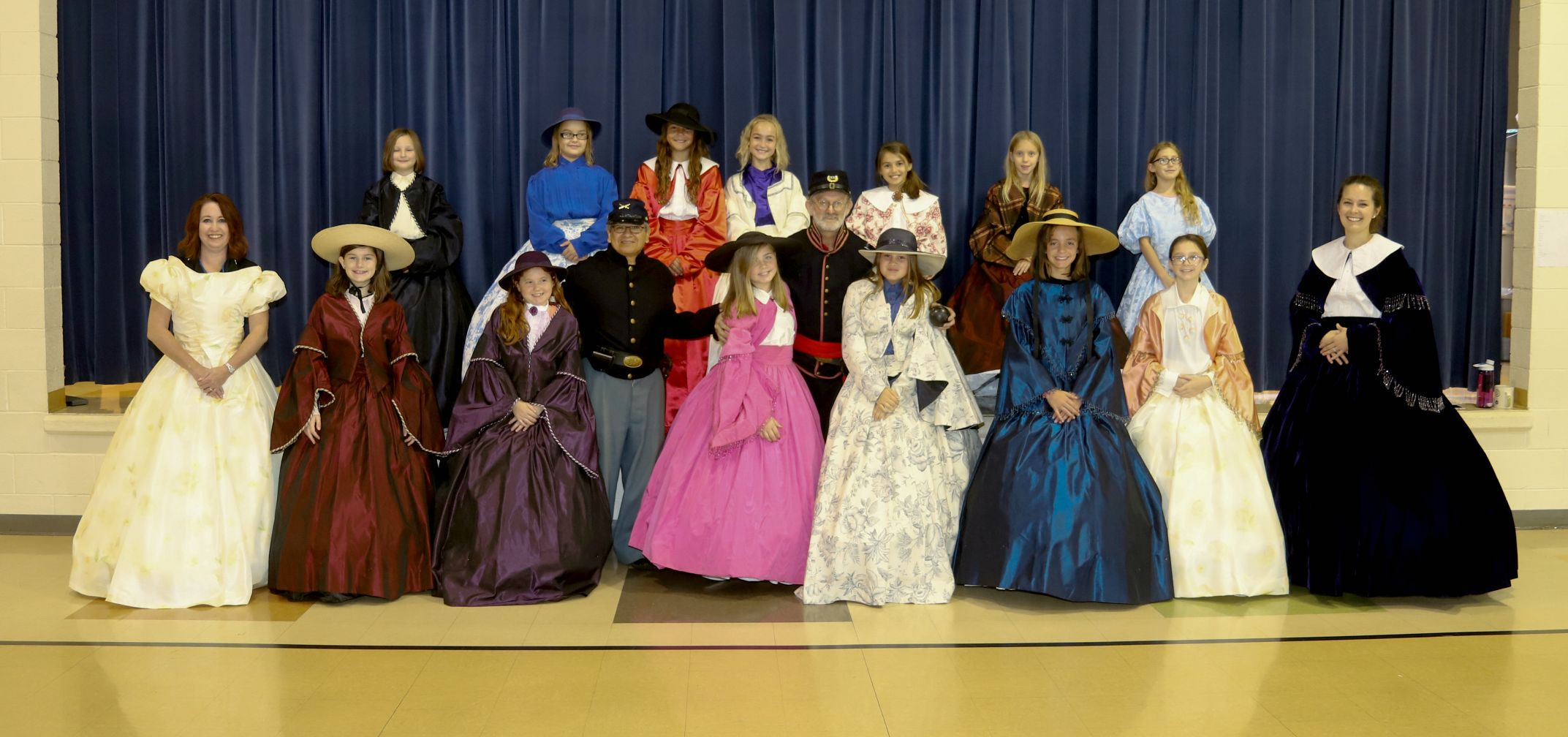 Civil War Dresses