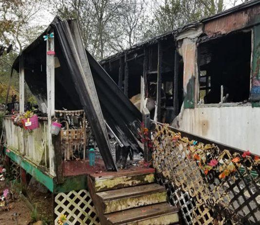 Graysville Trailer Fire 2018