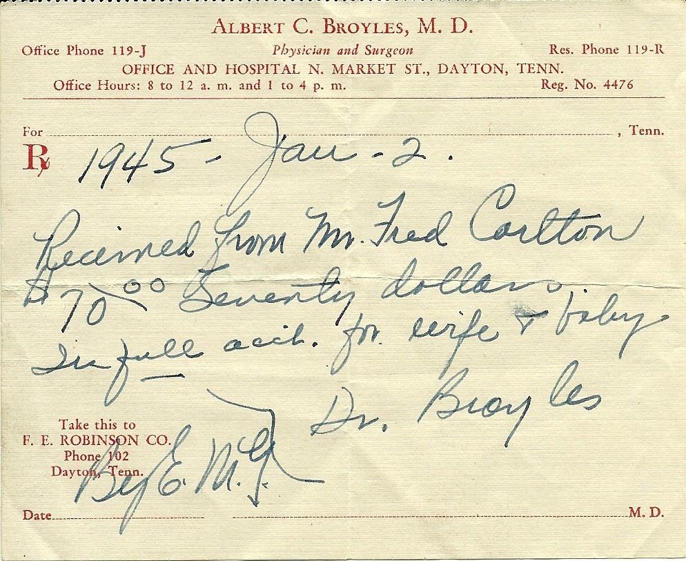 Dr. Albert C Broyles