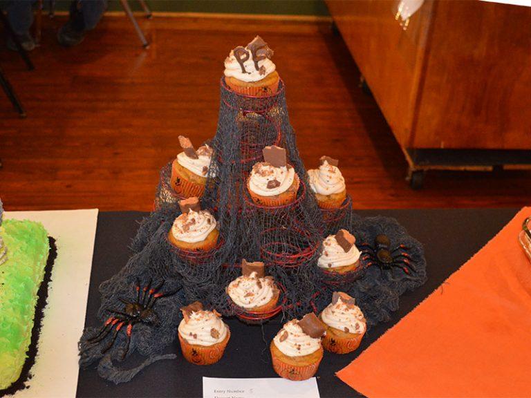 Jennifer Louallen wins Bake-Off with Pumpkin Cupcakes