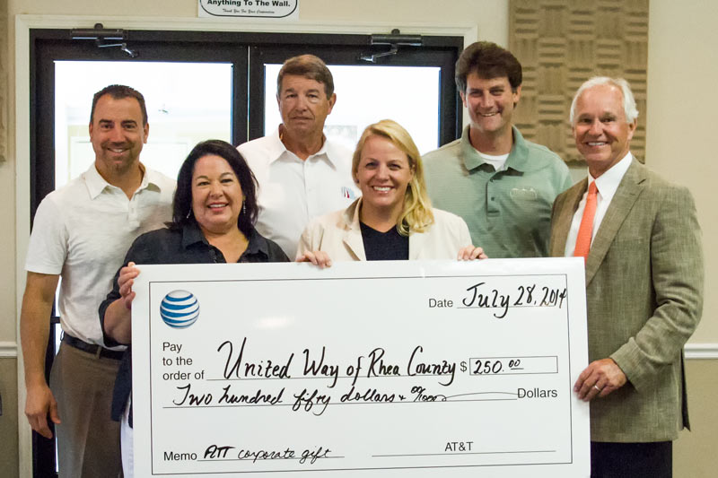 AT&T and United Way of Rhea County