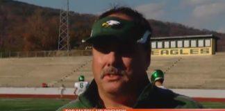 Coach Mark Pemberton
