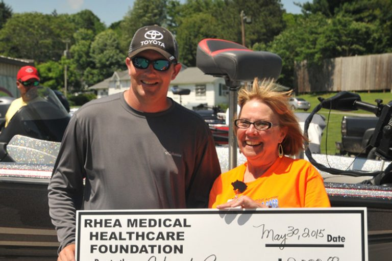 Chad Reel wins Big Bass Competition