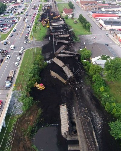 Train derailment Spring City tennessee