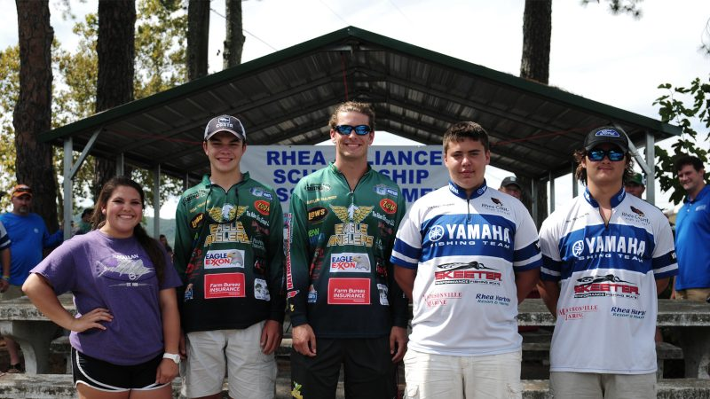Rhea alliance to scholarship bass tourney this weekend for Bass fishing scholarships