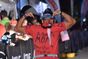 Tumlin dedicates race in memory of his mother and Papaw Virgil a WWII vet. (Ironman Chattanooga)