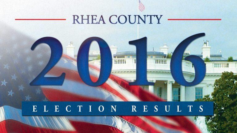 Election Results – November 8, 2016