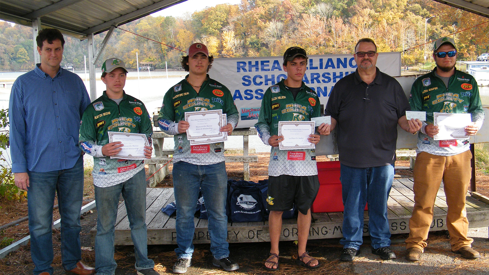 Rhea alliance awards scholarships to anglers for College fishing scholarships
