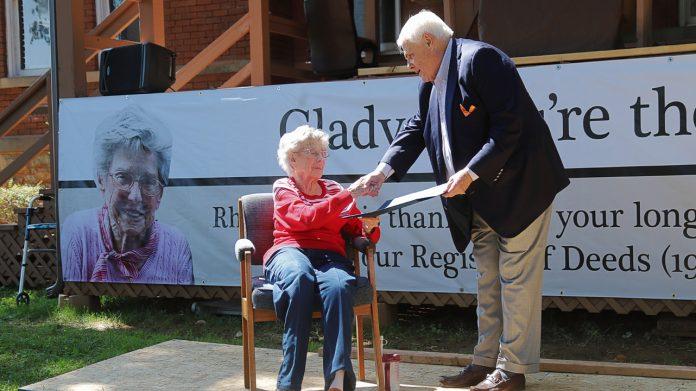 Senator Ken Yager presents to Best
