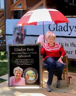 Gladys Best Retires