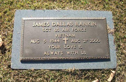 Jim Rankin Burial Stone