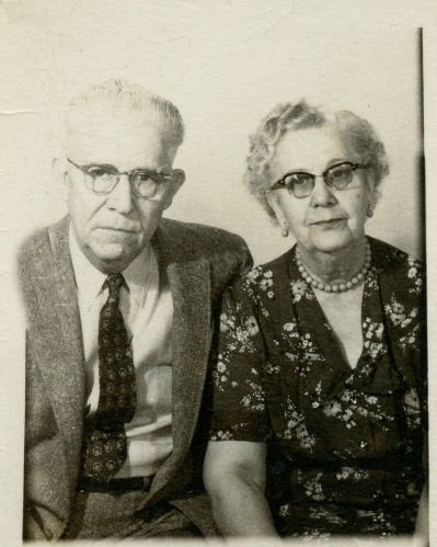Dr. Albert Broyles and wife.