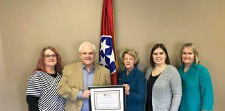 Dayton Chamber names Senator Yager Member of Month