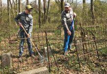 Jacob Ellis and Jacob Smith in Mynatt Cemetery