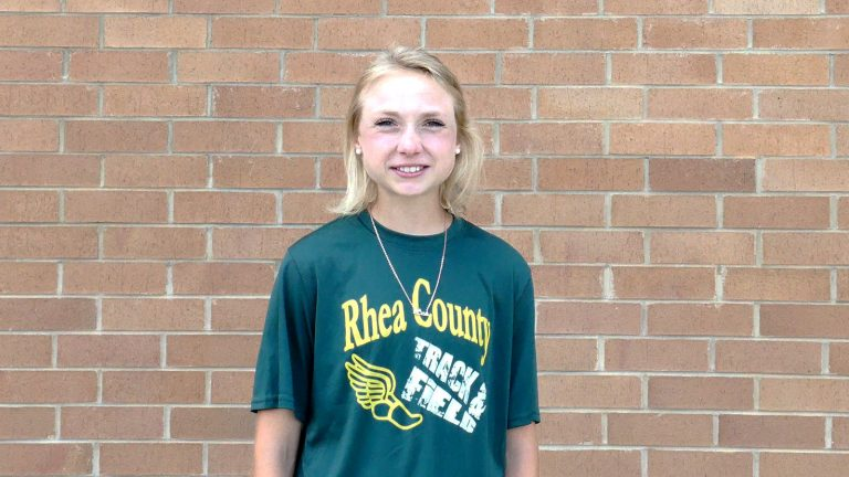 Lesley Green Runs Her State Medal Count to Six