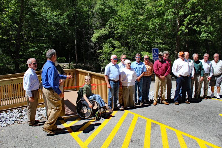 'Moment of Freedom' Fishing Pier Dedicated at Tellico