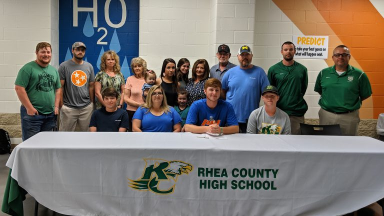 Jared Fisher Signs For Tennessee Wesleyan Baseball