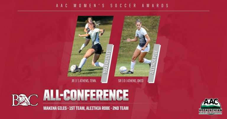 AAC Women's Soccer Awards, Giles and Robe Named All-Conference